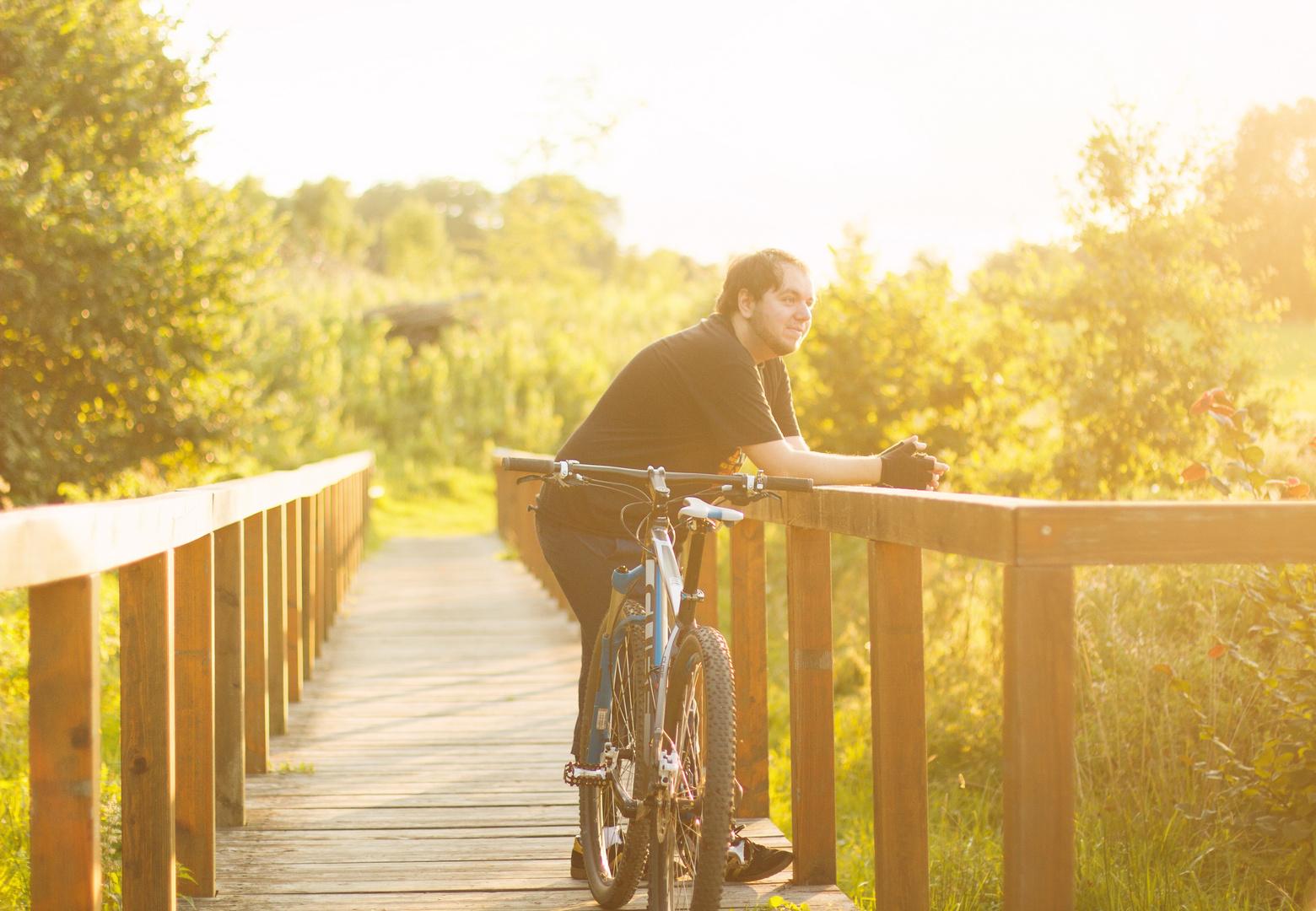 Mein Bike und ich
