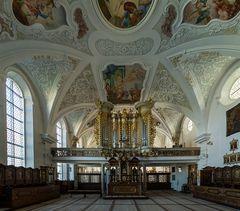 """Mein """"Blick in den Nonnenchor"""" in der Klosterkirche Mariä Himmelfahrt ( Mödingen )"""