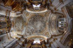 """Mein """"Blick nach oben"""" in der Damenstiftskirche St. Anna (München)"""