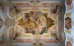 """Mein """"Blick nach Oben """" in der Wallfahrtskirche Maria Schray"""
