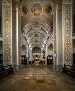 """""""Mein Blick nach Westen""""  in der Basilika St. Lorenz (Kempten)"""