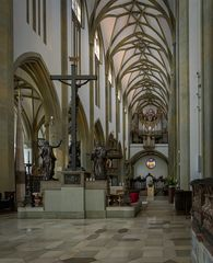 """Mein """"Blick nach Westen"""" in der  in der Kirche St. Ulrich und Afra (Augsburg)"""