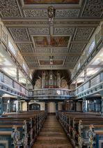 """Mein """"Blick nach Westen"""" in der Pfarrkirche St. Jakobus der Ältere (Uder)"""