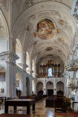"""Mein """"Blick nach Westen """"in der Schönenbergkirche Ellwangen"""