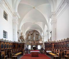 """Mein """"Blick nach westen"""" in der Stiftskirche St. Georg (Grauhof)"""