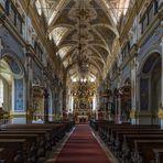 Mein Blick zum Altar in der Klosterkirche Niederschönenfeld
