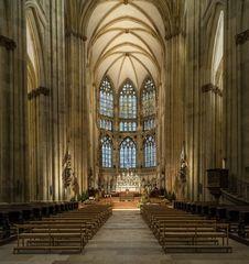"""Mein """"Blick zum Chor """" im Dom St. Peter (Regensburg)"""