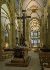 """Mein """"Blick zum Chor """" im Regensburger Dom"""