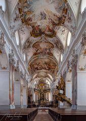 """Mein """"Blick zum Chor"""" in der Abteikirche Amorbach"""