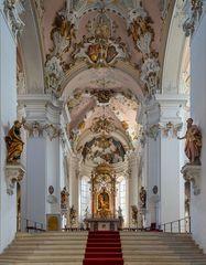 "Mein ""Blick zum Chor"" in der Basilika St.Vitus Ellwangen"
