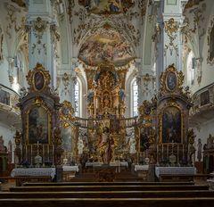 """Mein """"Blick zum Chor"""" in der Klosterkirche Andechs"""