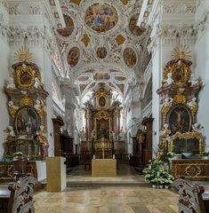 """Mein """"Blick zum Chor"""" in der Klosterkirche Speinshart"""