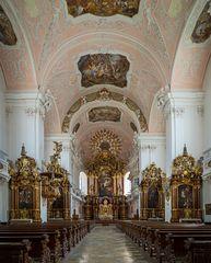 """Mein """"Blick zum Chor"""" in der Schutzengelkirche (Eichstätt)"""