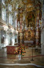 """Mein """"Blick zum Chor"""" in der Wieskirche (Steingaden)"""