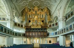 """Mein """"Blick zur Barockorgel """" in der Stadtkirche Celle"""