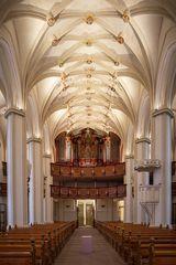 """Mein Blick """" zur Creutzburg-Orgel """" in der Basilika St. Cyriakus (Duderstadt)"""
