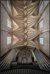 """Mein """"Blick zur Orgel""""...."""