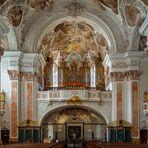 """Mein """"Blick zur Orgel"""" in der Abteikirche St. Michael Metten"""