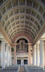 """Mein """"Blick zur Orgel"""" in der Kirche St.Ludwig (Celle)"""