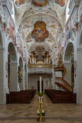 """Mein """"Blick zur Orgel"""" in der Klosterkirche Maria Himmelfahrt (Reichenbach)"""