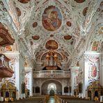 """Mein """"Blick zur Orgel"""" in der Klosterkirche Speinshart  Oberpfalz (Bayern)"""