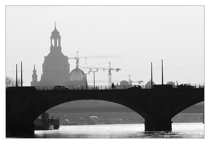 Mein Dresden - Silhouette einer Stadt