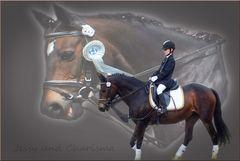 Mein Enkelkind mit ihrem Pferd Jessy