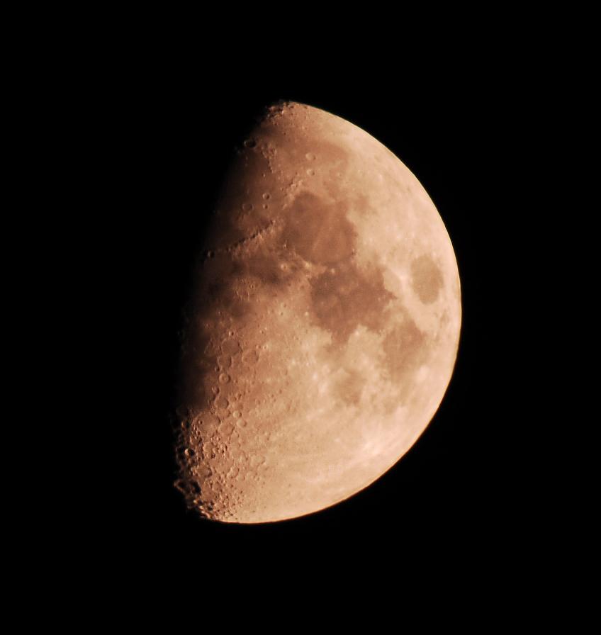 Mein erster Mond :)