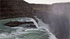 Mein erster Wasserfall in Island...
