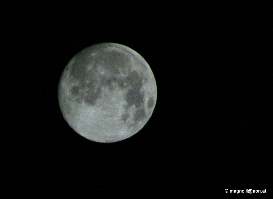 Mein erstes Mondbild