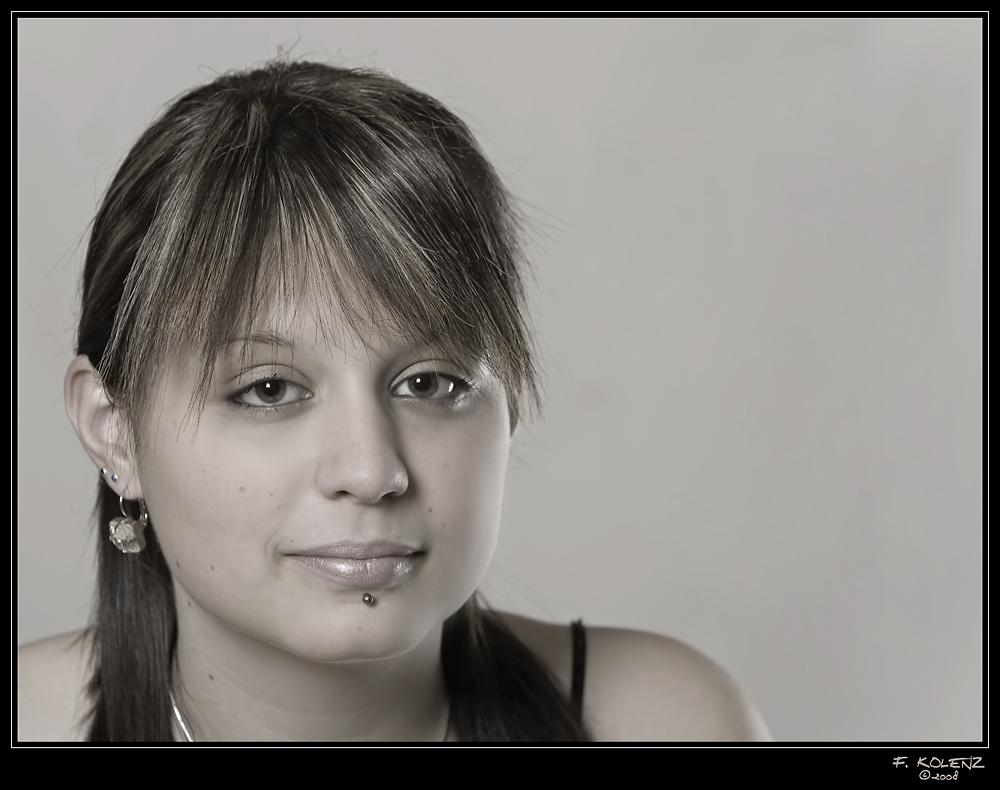 Mein erstes Portrait