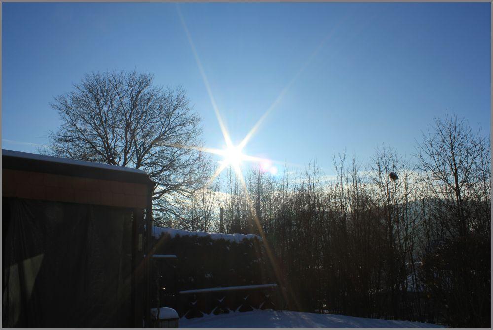 Mein erstes Sonnenbild