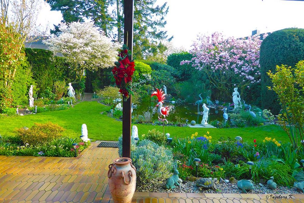 Mein Garten am 31.3.19 - Jetzt ist der Frühling wirklich da