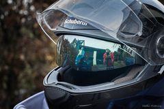 """Mein Helm, mein Motorrad, meine Kamera"""