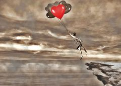 mein Herz fliegt dir entgegen .......