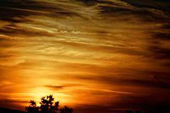 Mein heutiger Sonnenuntergang 08.08.2015