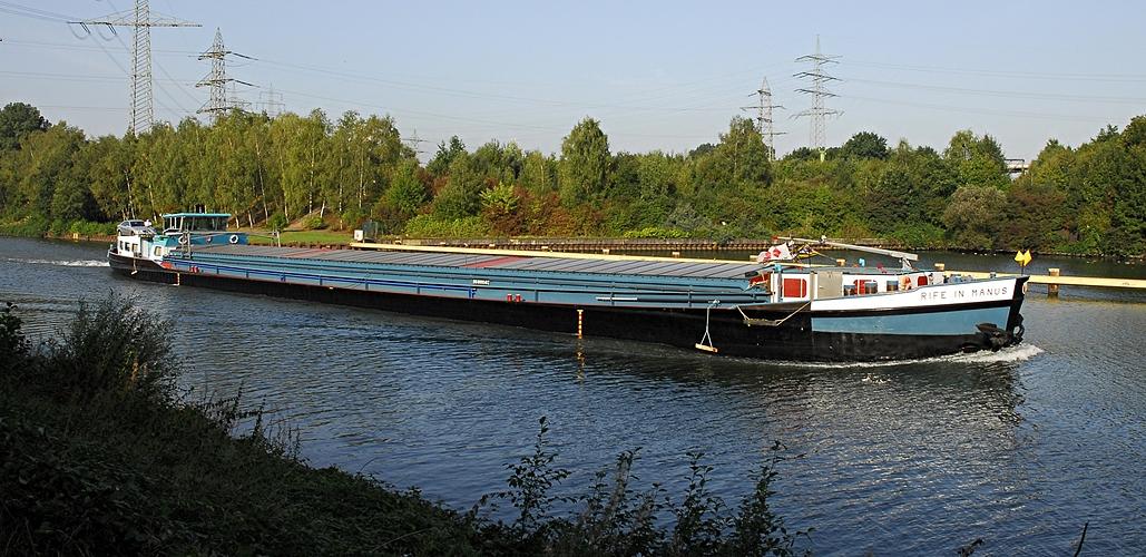 Mein Kanal in Essen