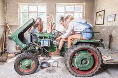 Mein kleiner grüner Traktor...