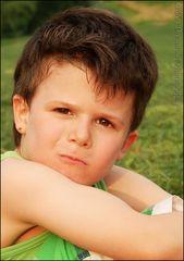 mein kleiner James Dean ;-)