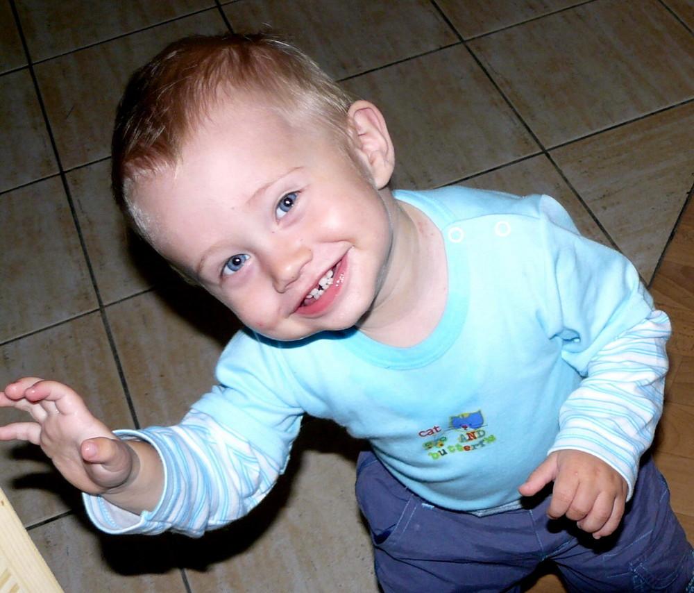 Mein kleiner Neffe Tadeas
