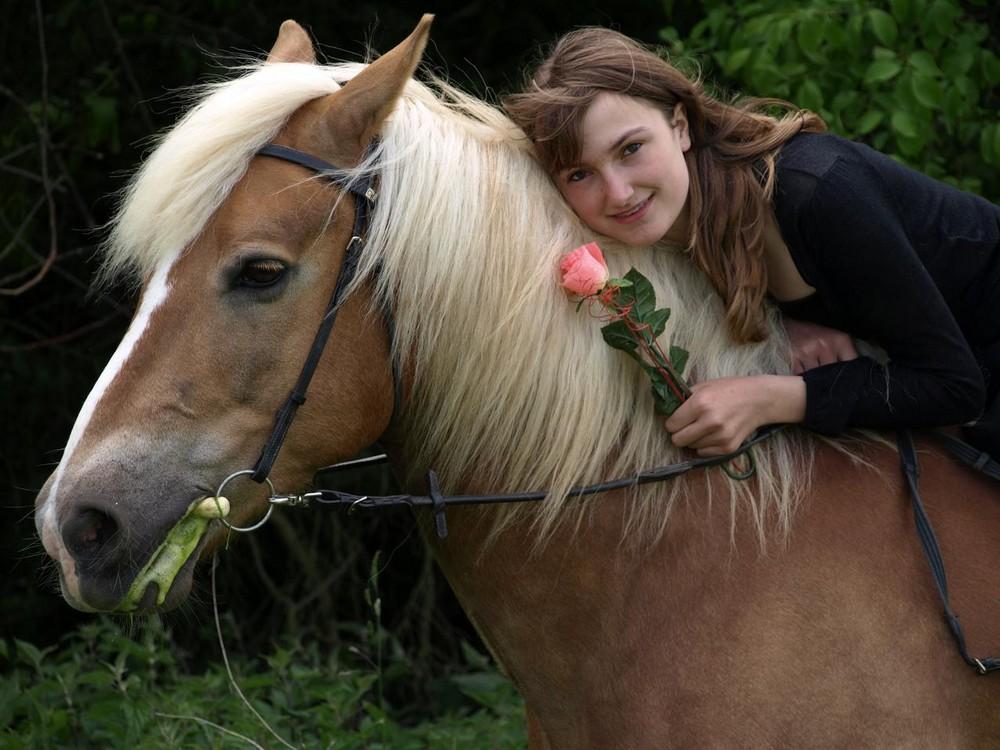 Mein kleiner Schatz und ich :-)