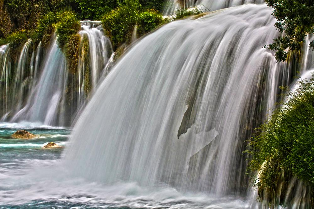 Mein kleiner Wasserfall