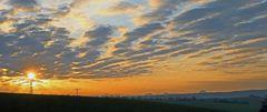 Mein letzter aktueller  Sonnenaufgang vor dem Herbst...
