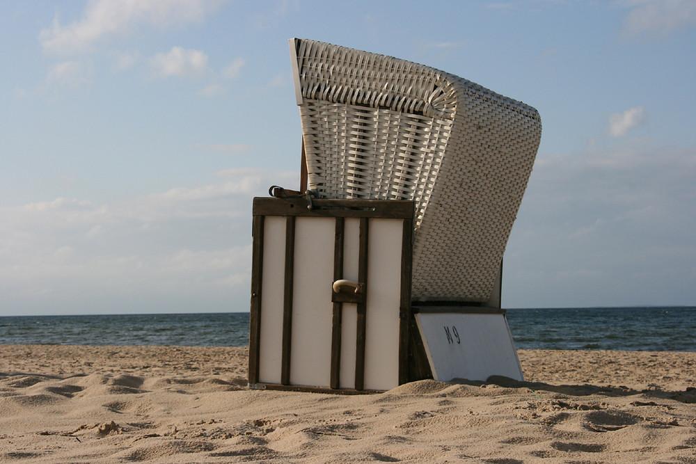 ...mein liebster Strandkorb...