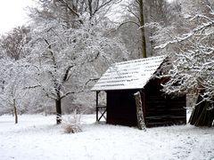 Mein Morgenspaziergang... die Hütte