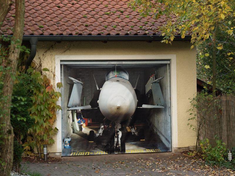 Mein Nachbar erstaunt mich immer wieder ....