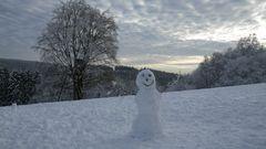 Mein Name ist Schneemann