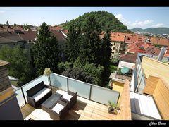 Mein neuer Balkon und Graz