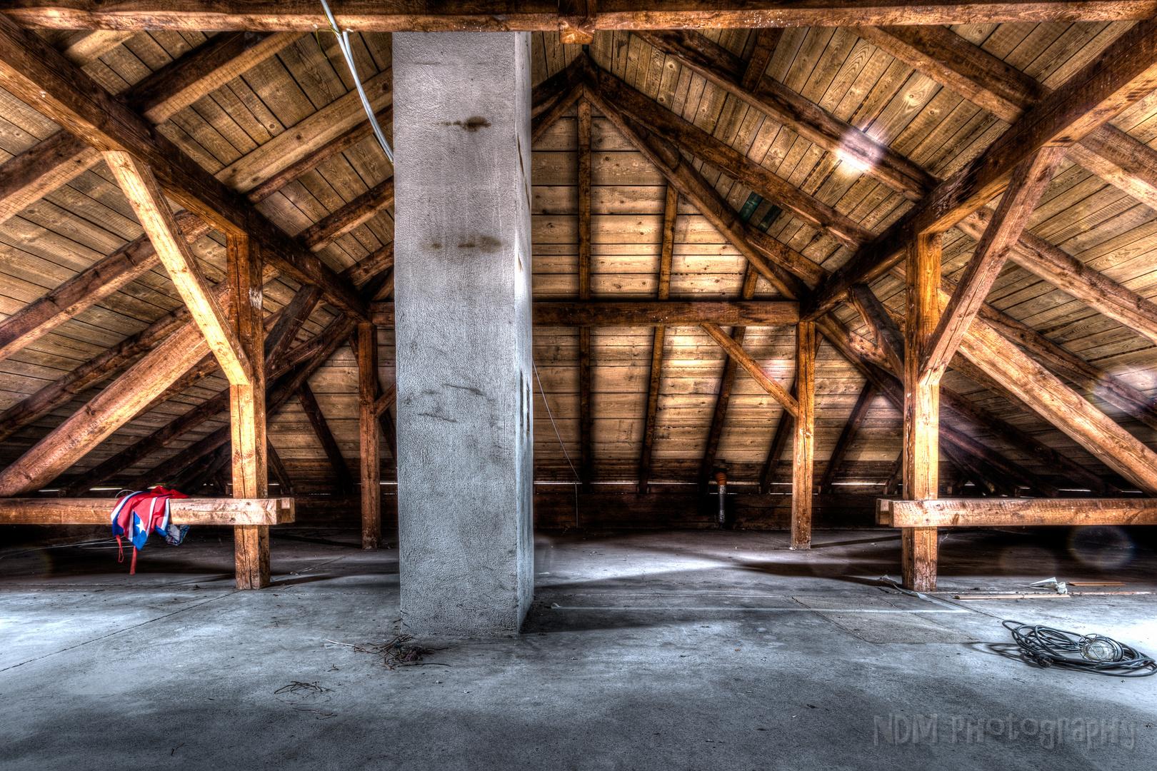 Entzückend Dachboden Dekoration Von Mein Nun Leerer