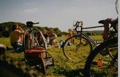 """°°° Mein """"Picknickhänger"""" war dabei - Mit Freunden auf den Elbwiesen °°°"""